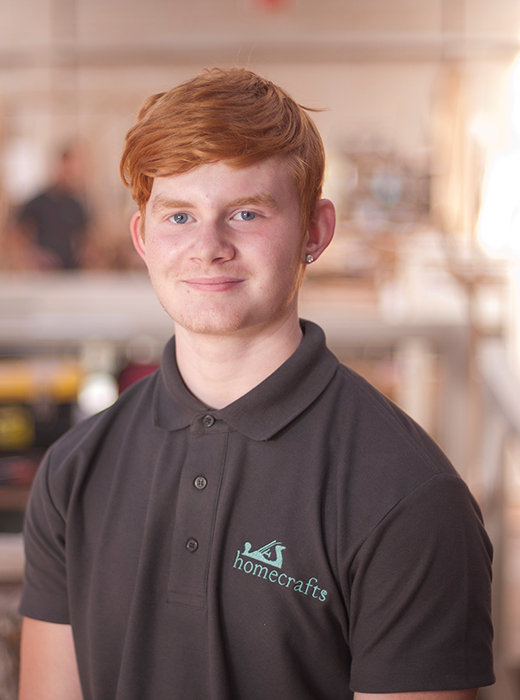 Aiden Hamilton – Paint Sprayer/2nd Year Apprentice Joiner